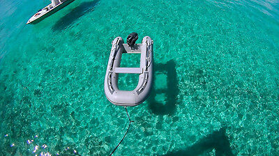 TRANSPARENT hull CLEAR BOTTOM INFLATABLE rib  BOAT 3 METER lenght
