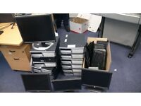 Office clear out bargain – 8 working PCs, monitors, keyboards, RAM…job lot