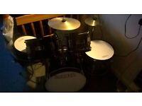 7 piece junior drum kit