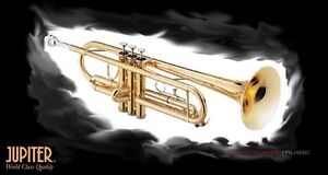 JUPITER-408L-Bb-TRUMPET-SUPERIOR-STUDENT-INSTRUMENT-w-CASE-WARRANTY-FREE-POST