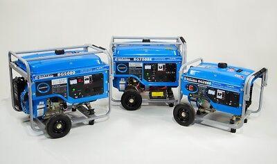 Bartell Bg7000eu Generator 7000 Watt 60hz 120v240v