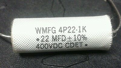 Audiophile Poly Film Capacitor Cdet 230c.22uf 400v 10axial 1 Pcs Each