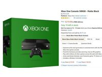 xbox one 500gb excellent condition, one controller - swap for gtx780, gtx1060, playstation4 or £120