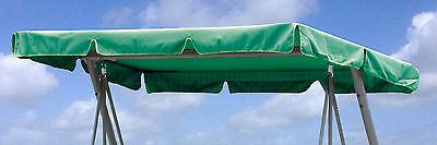 Ersatzdach Universal Hollywoodschaukel  Grün Ersatz-Bezug Sonnendach Dachplane