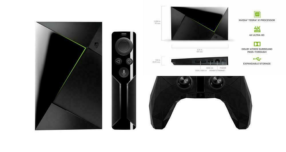 NVIDIA SHIELD TV Gaming Edition | 4K HDR Streaming Media Pla