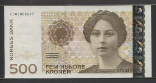 Norway 1999, 500 Kroner, P51a, GEM UNC