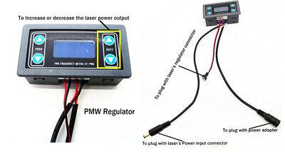 Pwm Laser Power Output Regulatorfrequencyduty Adjustable