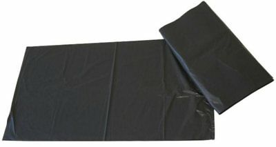 100 Wheelie Bin Liner Refuse Sacks Paclan 5KG Light Duty Black 30 x 46 x 53