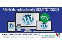 £229 - 10 page Professional Mobile Friendly Wordpress Website Design, Manchester, Stockport
