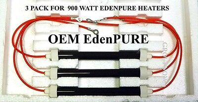 Set 3 BULBS A3841/RP EdenPURE Heating Essentials 500XL & GEN3 500 / 300 WATTS EACH
