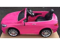 Pink Mercedes SL65 12v kids ride on cars. Brand New and Boxed.