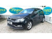 CAN'T GET CREDIT? CALL US! Volkswagen Polo 1.0 Match, 2016, Manual - £200 DEPOSIT, £71 PER WEEK