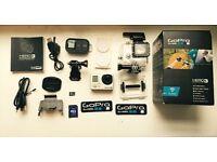 Go Pro Hero 3 - Black Edition Boxed with Accessories 1080p/4K Camera