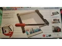 olympia vario duplex guillotine new