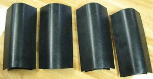 Pool Table Black Plastic Apron Mitres Replacement Parts NEW