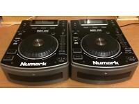 NUMARK NDX200 CDJs