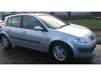 ***NO MOT***NEEDS REPAIRS*** Silver Renault Megane Privilege Hatchback 1.6 Litre 5 Door Car