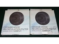 Cooker hood carbon filters CARBFILT1