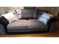 3 + 2 seater sofa's