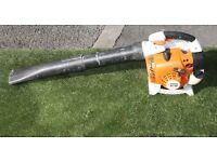 Petrol Stihl BG86 hand held garden blower
