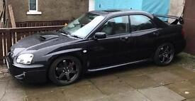 Subaru wrx sl prodrive 63k full service history