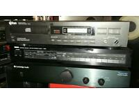 Cambridge amp / titan cd player / yamaha tuner