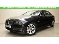 BMW 5 SERIES 3.0 525D SE 4d AUTO 202 BHP + TOP SPEC WITH ALL THE EXTRAS (black) 2011