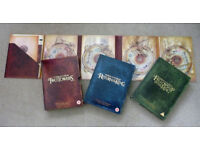 Lord of the Rings Trilogy - Special Extended Edition DVD set in excellent condition - 12 discs!