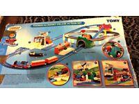 Thomas the tank engine & Cranky Trackmaster Set + extras