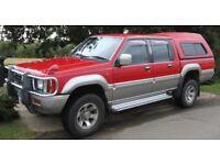 1995 Mitsubishi Strada L200 K34 2.5TD pickup truck 4x4 - RARE Jap import - 113,500 miles