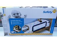 Portable Bed Rail by Safety First - 18 months to 5 years. Unused in box.