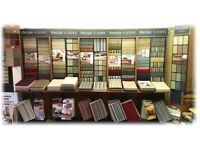 Carpet display stand and samples