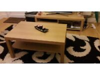 OAK EFFECT IKEA Coffee table.(perfect condition)