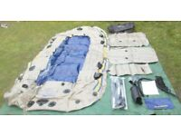 Intex Excursion Inflatable Dinghy Boat Tender Includes Pump & Oars , 5 person capacity New / Unused