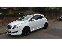 Vauxhall Corsa 1.2 Limited Edition White 2010