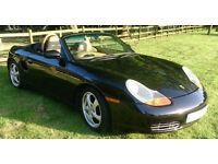 Porsche Boxster 2.5L Black