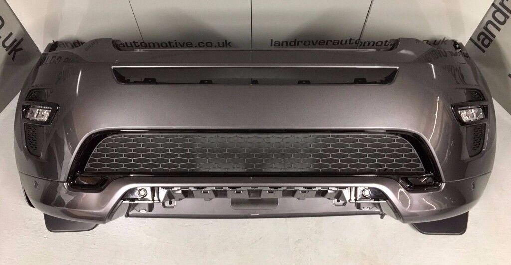 LAND ROVER DISCOVERY SPORT DYNAMIC BUMPER FRONT CORRIS GREY GENUINE 2016