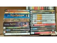 Dvds/pc games