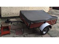 Small box trailer for car