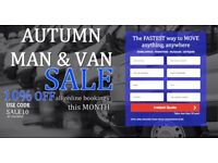 UK & EUROPEAN REMOVALS, CHEAPEST MAN & VAN, INSTANT ONLINE QUOTE IN LESS THAN 30 SECS! RT