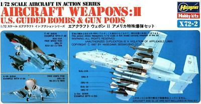 Hasegawa 1:72 Aircraft weapons II US Guided Bombs & Gun Pods Detail 35002 -