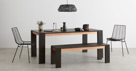 8 seat Dining Table and Benches