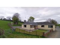 To Let - 4 bedroom bungalow - rural area - 2 miles from Armagh town £135