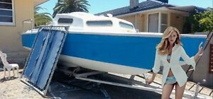 Yacht and trailer Calista Kwinana Area Preview