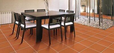 Cotto-Bodenfliesen, Terrakotta-Boden-Fliesen unbehandelt 30x30 DOMUS LINEA