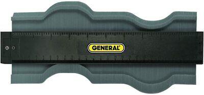 General Tools 833 Plastic Contour Gauge Profile Gauge Shape Duplicator 10-inc