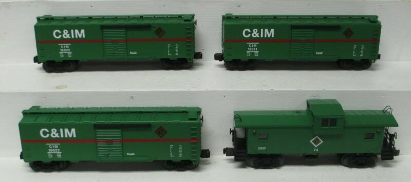Lionel 6-18556 O Gauge Sears Chicago & Illinois Midland Freight 4 Pack Car Set