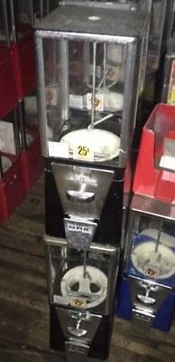 Black Vending Machine Gumball Candy Toy Nut Oak Aa Eagle Business Maker