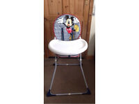 Mother care Mickey Mouse highchair