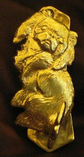 PEKINGESE Solo Door Knocker in Bronze